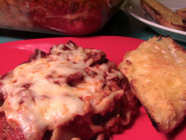 Gluten free Classic Lasagna by Gluten Free Miracles