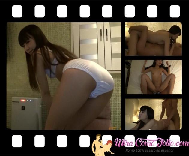 jovencita japonesa follando