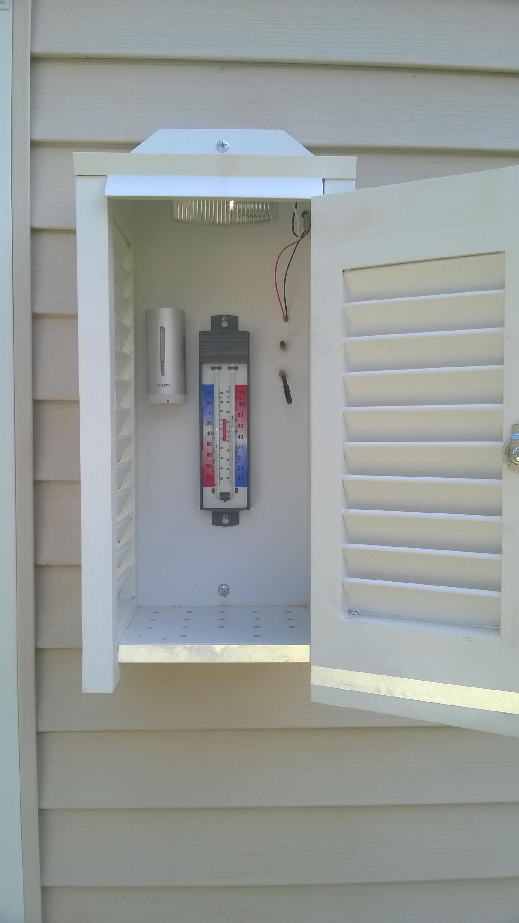 NovaLynx Model 380600 Thermometer Shelter Pics