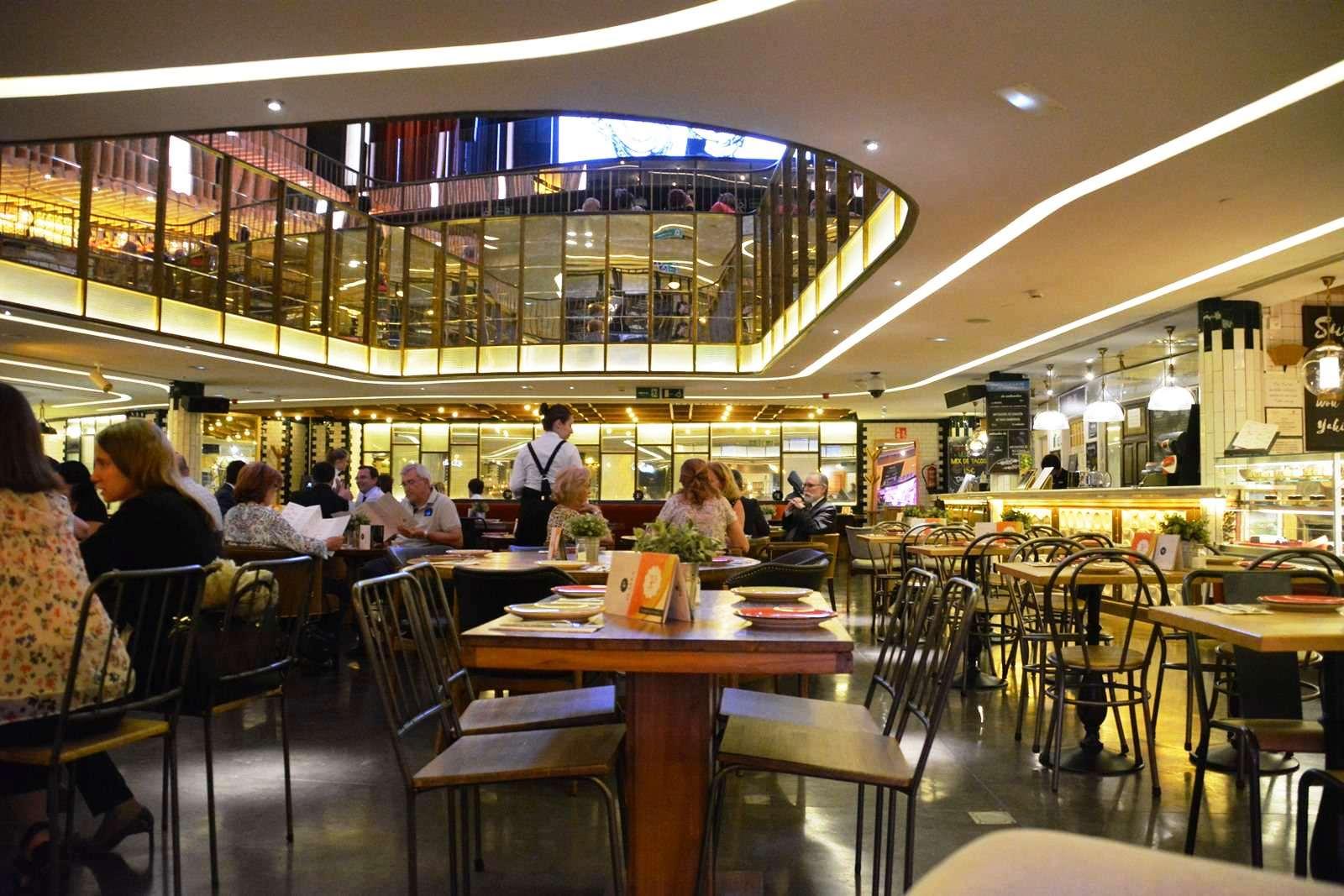 Centro de ocio gastronmico Platea en Madrid  Mirador Madrid