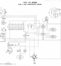 fiat 124 fuse box simple wiring diagram triumph tr6 fiat spider fuse box [ 1439 x 1322 Pixel ]
