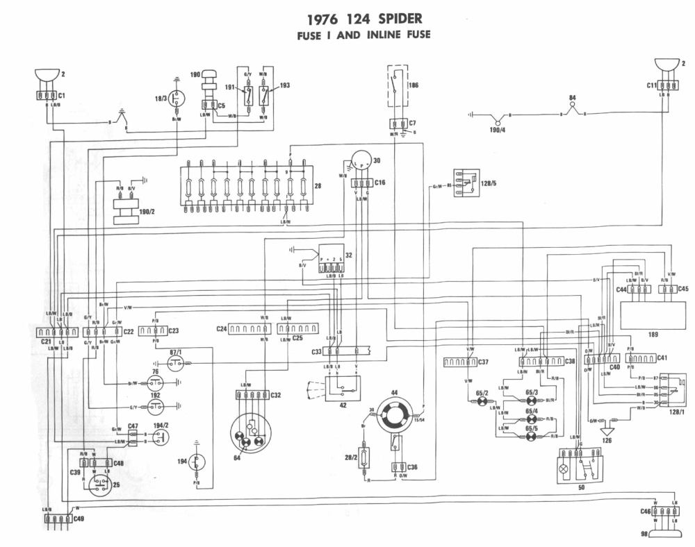 medium resolution of fiat wiring diagram