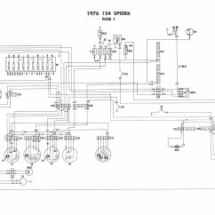 Fiat Spider Wiring Diagram Soil Phosphorus Cycle 1976 Diagrams