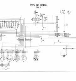 1983 fiat 124 electrical schematic wiring diagram todays fiat spider wiring diagram wiring diagram todays old [ 1985 x 1396 Pixel ]