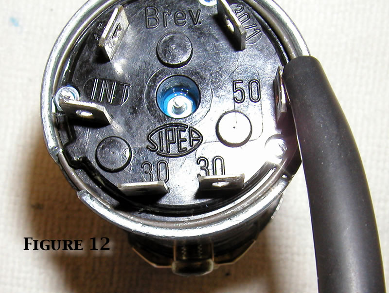 1976 Fiat 124 Spider Ignition Switch Wiring Diagram