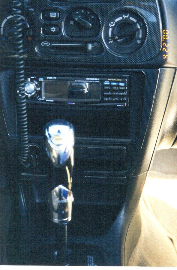 Neon Lights Cars Interior