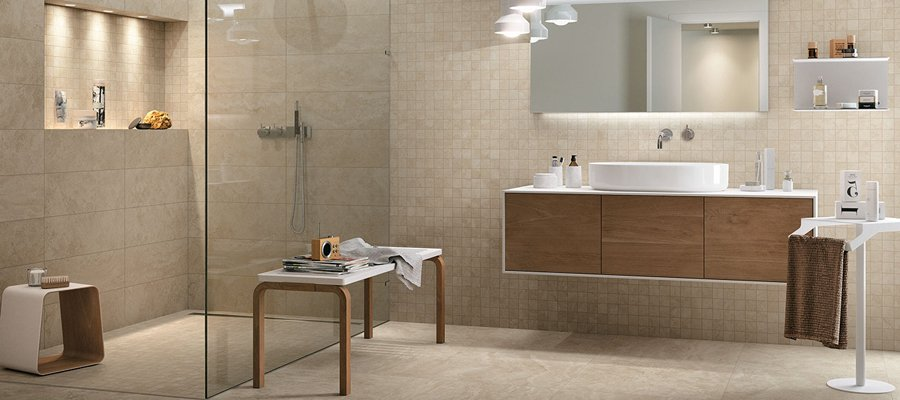 5 abbinamenti base per il pavimento e il rivestimento del tuo bagno  Mirage