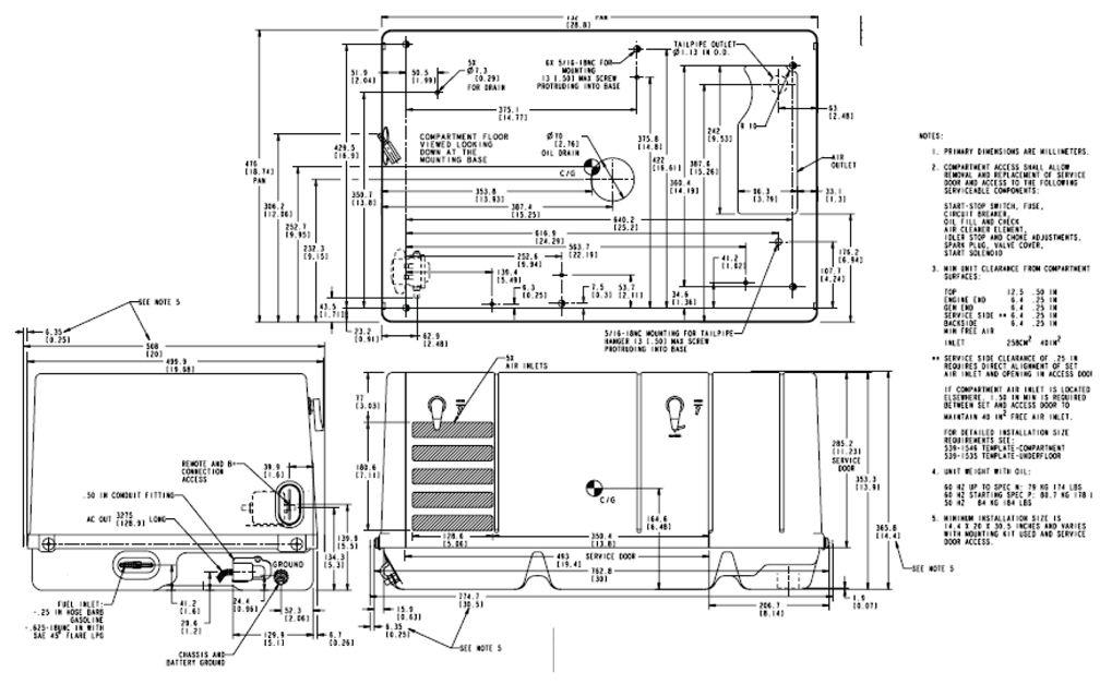 RV Generator, Quiet Gasoline™ Series RV QG 4000