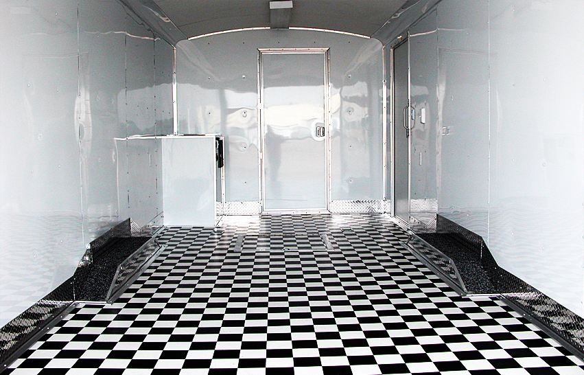 checkered vinyl flooring black and white