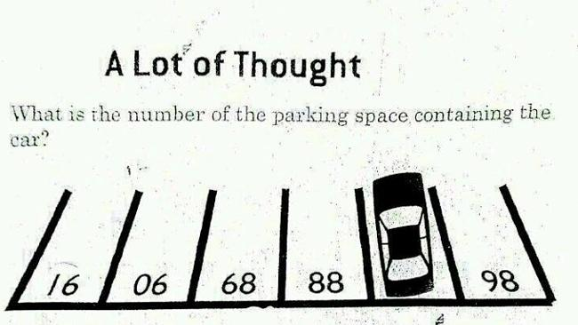 6-year-olds solve it at a glance, can you?