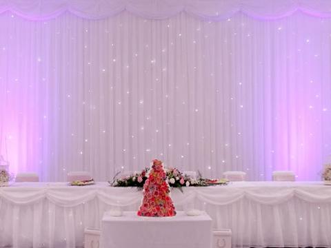 mirage wedding backdrops flower walls