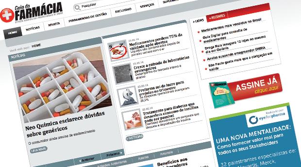 Atualização de Joomla no Portal Guia da Farmácia