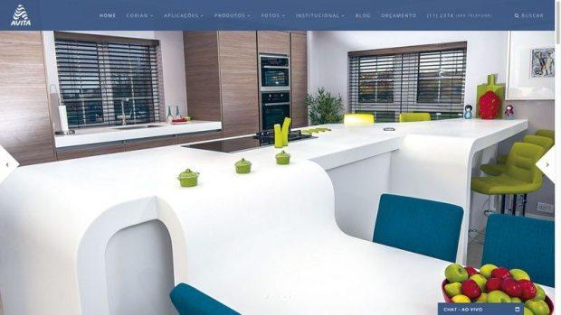 Site otimizado para Avitá Design