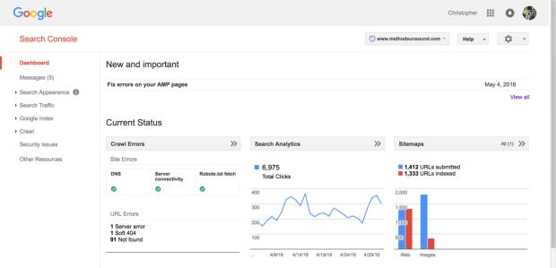 ferramenta google search console