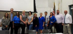 Mira Mesa school principals at the October 2019 Mira Mesa Town Council Meeting