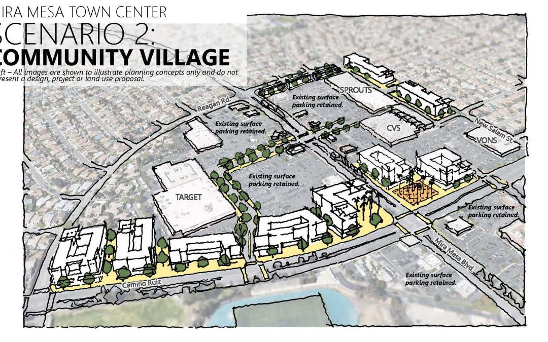 Shopping Center Proposals Scaled Back