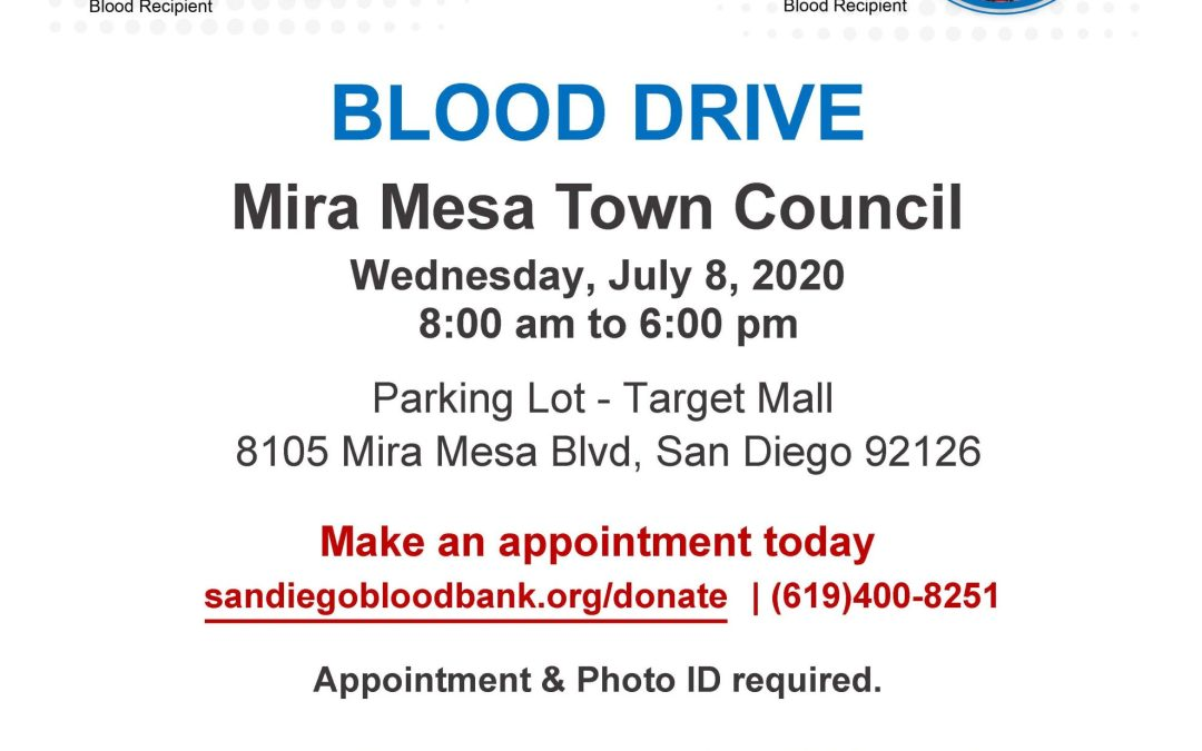 Blood Drive July 8