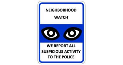 Join Our Neighborhood Watch Program!