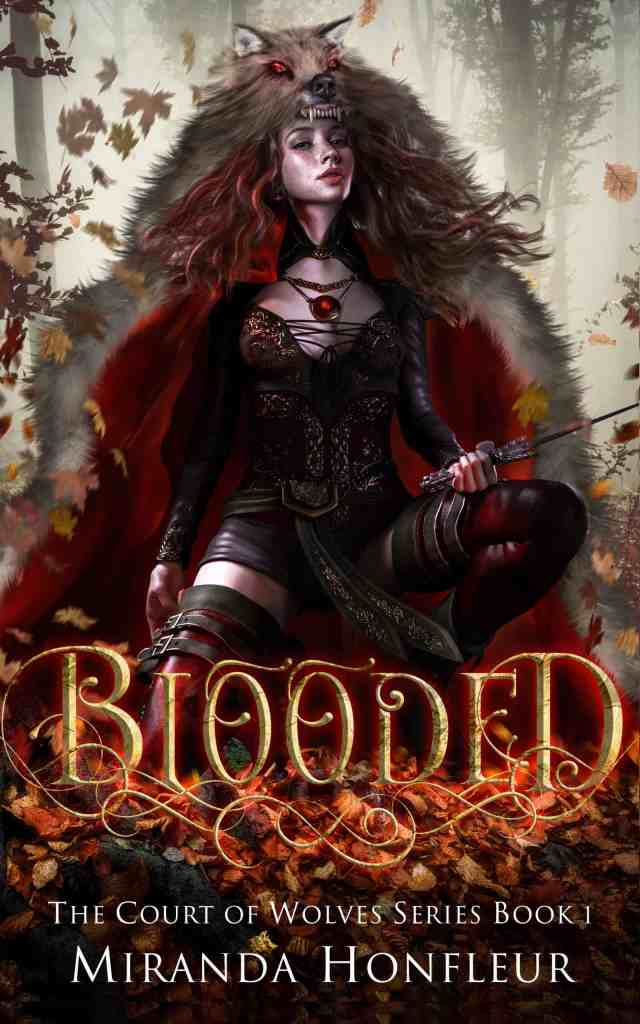 Book Cover: Blooded (Court of Wolves #1)