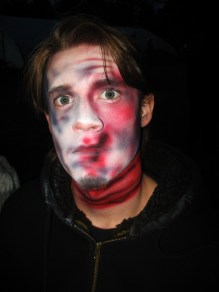 sfx makeup, special effects make up, horror, gore, trauma, wounds, rope burn, airbrush, ligature marks