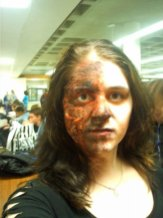 sfx makeup, special effects make up, horror, gore, trauma, wounds, prosthetic, latex, burns, 3rd degree burns, third degree burn