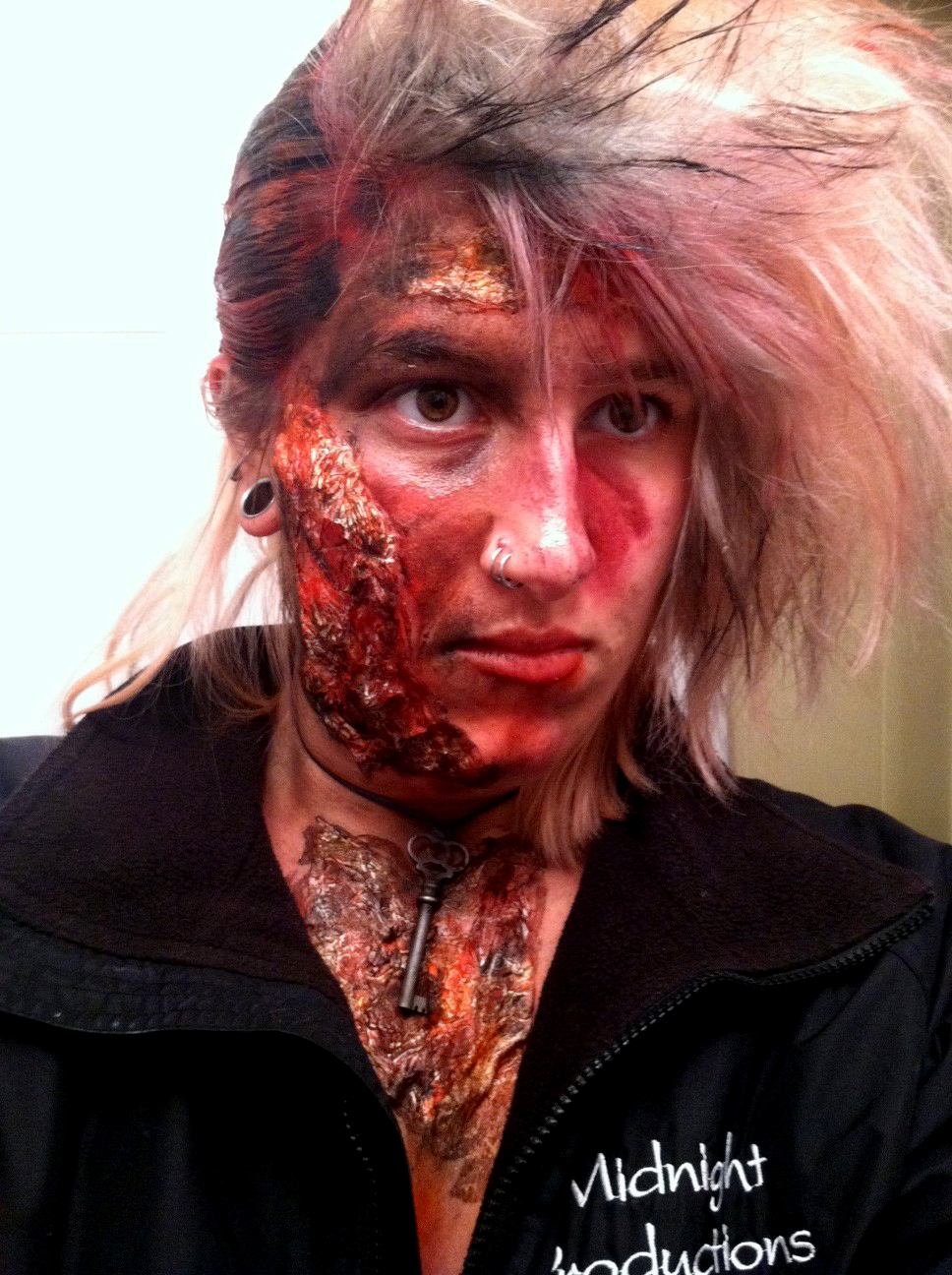 burn effects makeup
