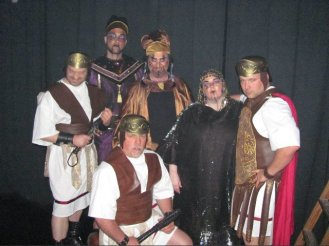JSSC, jesus christ super star, theatrical makeup, annas, caiaphas, priestest, roman soldiers