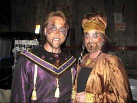 JSSC, jesus christ super star, theatrical makeup, tribal, Egyptian, gold