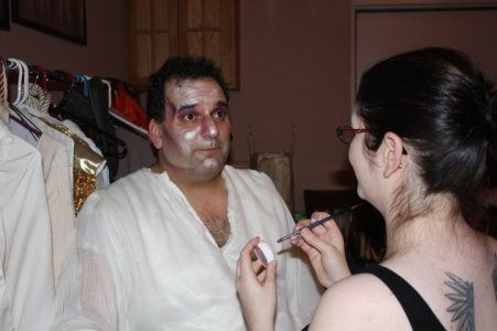 pilate, JSSC, jesus christ super star, theatrical makeup