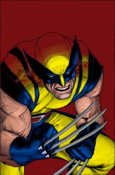 logan, marvel, james howlet, claws, yellow suit, colors, coloring, color, colorist
