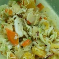Zomerse witte koolsalade