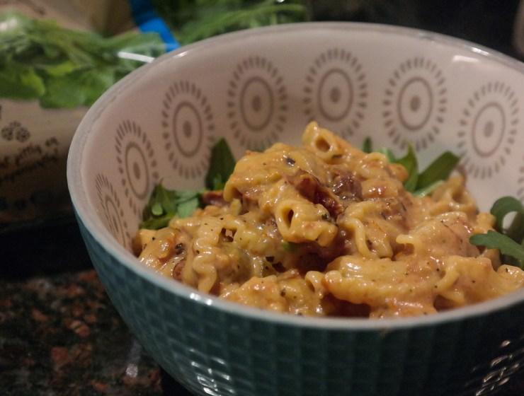 pasta zongedroogde tomaten