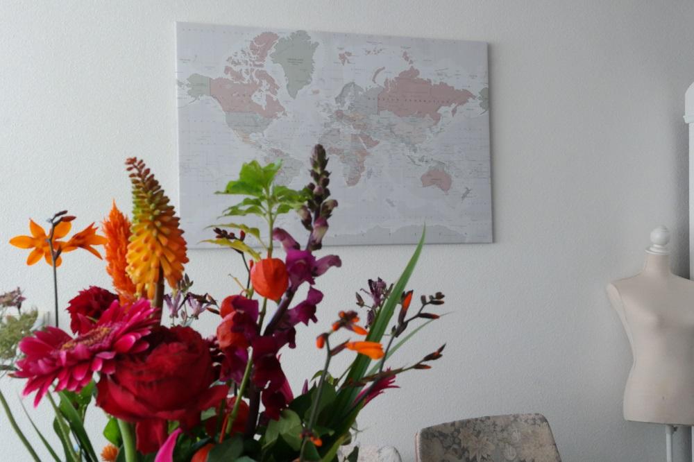 Heb jij al een wereldkaart aan de muur?