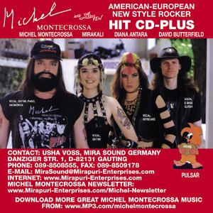Michel Montecrossa Hit CD-Plus