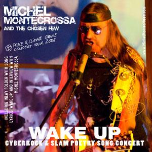 Double CD 'Wake Up' - Concert of Michel Montecrossa's Peace & Climate Change Concert Tour