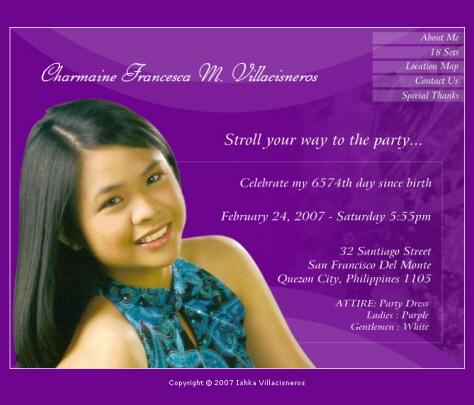 Invitation design debut chatterzoom debut invitation template 26 free word pdf psd format stopboris Gallery
