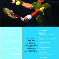 Turneu de tenis pentru seniori la C.S.Dafora
