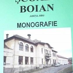 Duma Vasile a lansat monografia scolii Boian