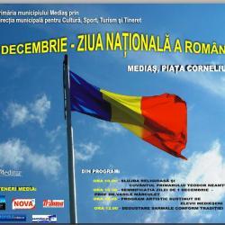 Ziua Nationala sarbatorita la Medias