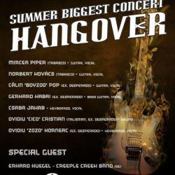 Erhard Huegel invitat la concert Hangover