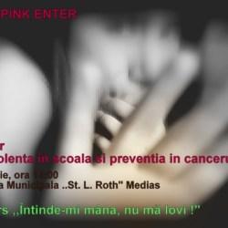 Seminar,,Nonviolenta in scoala si preventia cancerului de san'' la Medias