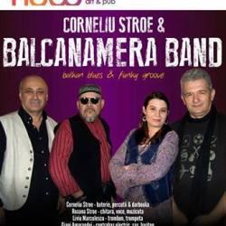 Corneliu Stroe & Balcanamera Band canta la Sibiu