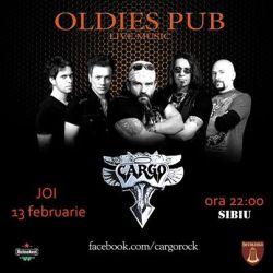 Cargo canta pe 13 februarie la Sibiu