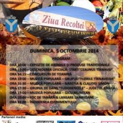 Program Ziua Recoltei in localitatea Tirnava