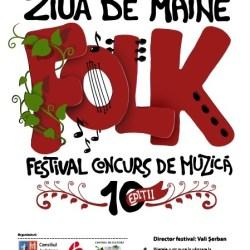 """Editie aniversara a Festivalului-Concurs de Muzica Folk """"Ziua de Maine"""""""