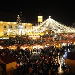 De maine avem weekend-uri colorate la Targul de Craciun din Sibiu