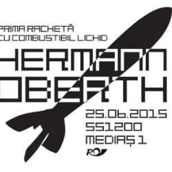 O noua stampila speciala dedicata savantului Hermann Oberth