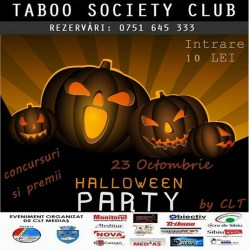 Halloween Party, in Taboo Society Club