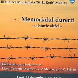 "Dezbaterea ""Memorialul durerii – o istorie altfel"""