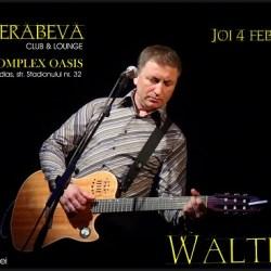 Castiga o invitatie dubla la concertul lui Walter Ghicolescu
